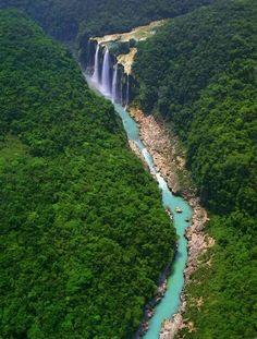Cascada de Tamul - México