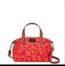 KATE SPADE NY Newbury Park Small RILEY NEW Pink & Orange Purse Shoulder Bag