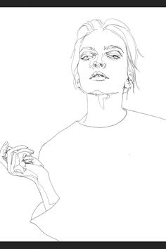 Continues line drawing