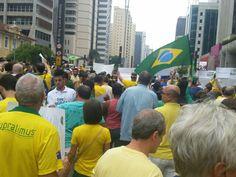 Manifestação Av Paulista 13 de março de 2016