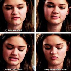 I love Emma so much she is a anorexic character and is super smart she is my role model She shouldn't be your role model tho Red Band Society, Series Movies, Movies And Tv Shows, Waiting For Superman, Broken Hearts Club, Ciara Bravo, Dark Thoughts, Girl Meets World, Girl Problems