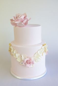 Roses and Bows Cake