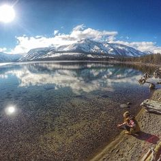 #GoPro Featured Photographer and #GoProGirl Jamie Anderson  About the shot: I love being in nature so I try to share that on my Instagram page, keeping it filled with photos from my travels around the world! #GoPro
