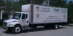 Our delivery truck for the Dade, Broward and Palm Beachs. #packaging
