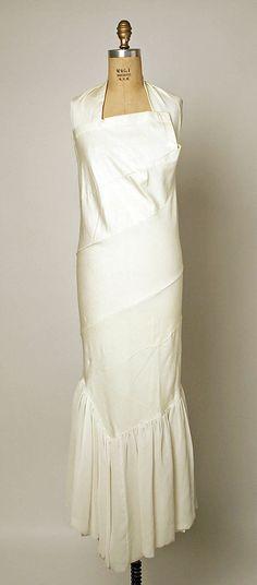 Dress, Comme des Garçons, Designer Rei Kawakubo, 1985, Japanese, synthetic blend