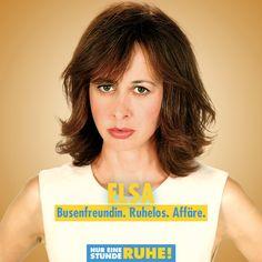 Valérie Bonneton ist Elsa. #NurEineStundeRuhe läuft jetzt im Kino. Monsieur Claude, Comedy, Elsa, Hollywood, Movie, Film Director, Cinema, Comedy Theater