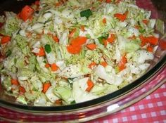 """THIS IS FROM A NEWSLETTER I GET FROM """"Mennonite Girls Can Cook""""..IT ALSO HAS A PHOTO OF THE COLE SLAW."""
