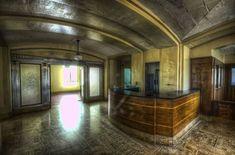 Creepy Abandoned Haunted Hospital: Soon to House Senior Citizens PICS, 5 Vids] Haunted Hospital, Old Hospital, Abandoned Hospital, Abandoned Churches, Abandoned Asylums, Abandoned Places, Spooky Places, Haunted Places, Haunted Asylums