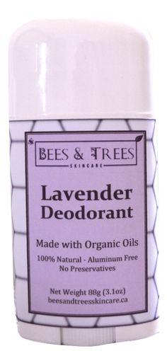 Bees & Trees - Natural Lavender Deodorant