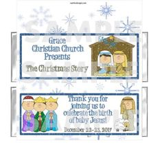 MUST HAVE - Our church Christmas play! A perfect gift to hand out at the church door as the congregation arrives!