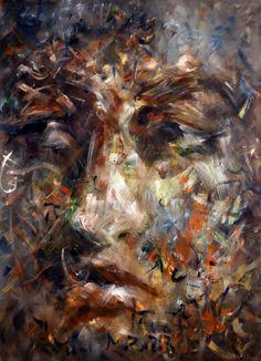 Atalay Mansurolu; Oil, 2012, Painting Face