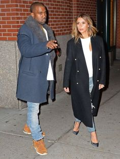 Kim Kardashian Tucked Her Hair into Her T-Shirt Last Night—Are We Counting This as a Hairstyle Option Now? Kim Kardashian And Kanye, Kardashian Style, Kim And Kanye, Fashion Idol, Black Love, Kanye West, Pretty People, Her Hair, To My Daughter