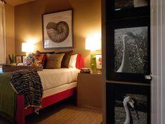 My inspirational bedroom. HGTV Green Home 2008