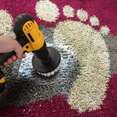 Power Scrubber Drill Brush Kit Scrubbing by hand is such a pain! It can lead to sore wrists, sore fi Car Cleaning, Cleaning Hacks, Cleaning Brushes, Brush Cleaning, Cleaning Equipment, Kitchen Cleaning, Hacks Diy, Drill Brush, Hand Scrub
