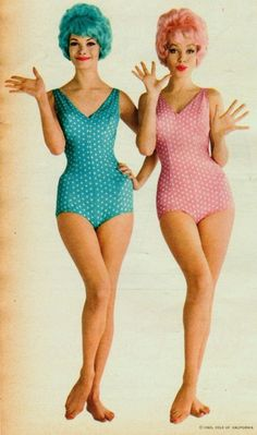 cole of california swimsuits - 1960