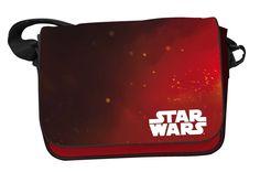 Star Wars Episode VII Umhängetasche Logo & Red Background  Star Wars Taschen - Hadesflamme - Merchandise - Onlineshop für alles was das (Fan) Herz begehrt!