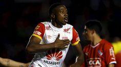 En Avellaneda, Santa Fe de Bogotá  venció 1-0 a Independiente en la ida de los cuartos de la Copa Sudamericana. Octubre 23, 2015.