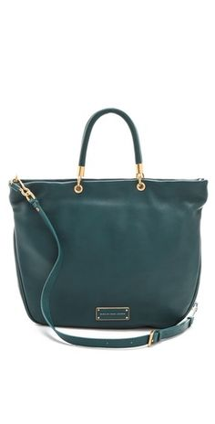 Marc by Marc Jacobs Too Hot To Handle Shopper in Teal!