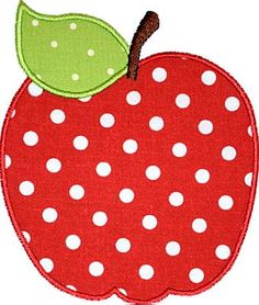 Apple Applique Design Pattern