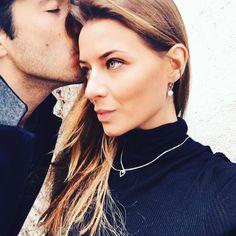 #VeronicaFerraro Veronica Ferraro: Sweet kiss  -1 to #valentinesday @mabina_gioielli #mabinagioielli #jewels