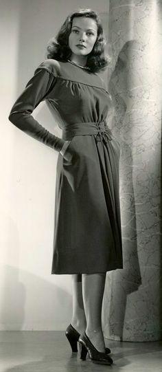 Gene Tierney. 1945