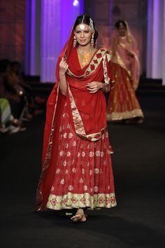 Meera Muzaffar Ali Couture Collection at India Bridal Fashion Week 2012