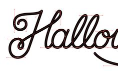 Introduction to Vectorizing Hand Lettering