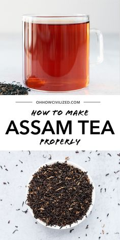 Bold and robust, assam tea is a great choice for every day drinking! Assam tea is a black tea that's one of the most well known teas in the world. Whether you like it hot or cold, assam is a delicious tea! Making Iced Tea, Iced Tea Recipes, Tea Sandwiches, Recipe Steps, Brewing Tea, How To Make Tea, Simple Syrup, High Tea, Teas