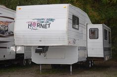 1995 Hornet Rear Kitchen, Super Slide Fifth . Rear kitchen with plenty of counter space and storage. Used Rvs, Fifth Wheel, Rvs For Sale, Hornet, Recreational Vehicles, Kitchen, Cooking, Kitchens, Camper