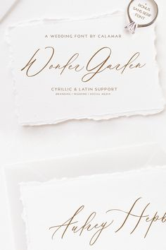 I know you have been waiting for this :) And new modern calligraphy font with Latin & Cyrillic support is here. It's Wonder Garden Script. This beautiful font Wedding Fonts, Monogram Wedding, Wedding Invitations, Calligraphy Fonts, Modern Calligraphy, Cursive Fonts, Hand Drawn Fonts, Hand Lettering, Gift Voucher Design