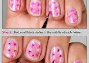 How To Do The Floral Manicure
