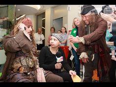 Johnny Depp Visits Children's Hospital as CAPTAIN JACK SPARROW | The RPF Pulse