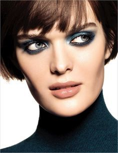 Sam Rollinson for Chanel Blue Rhythm (Makeup by Lucia Pica)