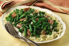 Green Bean Casserole, Green Beans and Fresh Green Bean Casserole
