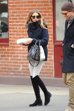 Stylish outfit with Stuart Weitzman 5050 boots #SS16 #women #fashion