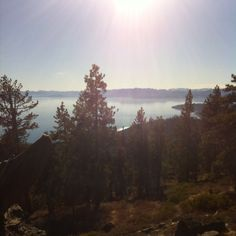 The view from north lake Tahoe
