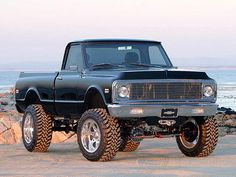 Chevy Fleetside 4x4 with updated drive train, brakes, and suspension including a lift kit. Better than a new truck.