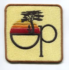 Vintage 80's Style Op Patch Badge for Cap Hat by smARTpatches