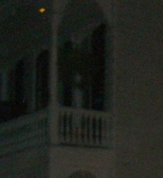 Ghost on the balcony, French Quarter