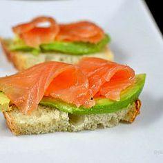 raw marinated salmon
