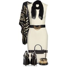 A fashion look from February 2015 featuring STELLA McCARTNEY dresses, Chanel pumps and Victoria Beckham tote bags. Browse and shop related looks.