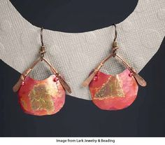 Lark Jewelry & Beading is offering you a chance to win two pairs of gorgeous earrings made by Mary Hettmansperger