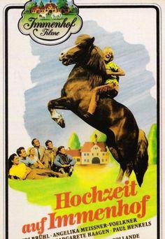 Poster zum Film: Hochzeit auf Immenhof. 1956