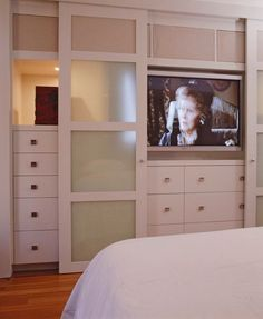 Cindy Ray Interiors: Bedroom built-ins with white built-in ...