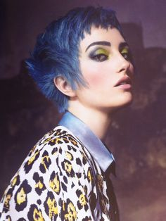 I've never been a fan of unnatural hair colors, except for blue. But I'd only dye a small segment of my hair.