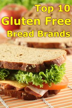 Top 10 Gluten Free Bread Brands…SCHAR Deli Style Bread is also a VERY GOOD choice. You don't need to toast it!! I cannot believe it is not on the list...