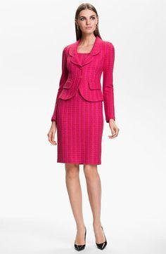 St. John Collection Tweed Jacket & Dress   Nordstrom