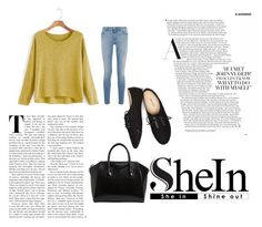 """""""Untitled #33"""" by aidabeganovic ❤ liked on Polyvore featuring Givenchy and Wet Seal"""