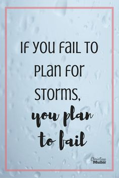 If you fail to plan for storms, you plan to fail. Spring brings flowers but also storm season.  By taking a little bit of time, you and your family can have peace of mind knowing what to do during a tornado warning.