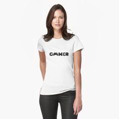Gamer T-Shirt #gamer #gaming #videogames #videogame #console #xbox #ps5 #ps4 #pcgaming #pcgamer #streaming #tshirt #tshirts T Shirt Sport, My T Shirt, Crew Shirt, Drama Korea, Lee Min Ho, Hurley, Mom Shirts, T Shirts For Women, Sassy Shirts